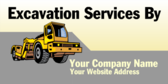 Excavation Services By Your Company Name