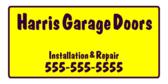 Garage Doors Installation and Repair