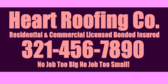 Licensed Bonded and Insured Roofers with Contact