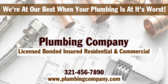 Your Plumbing Company Name Licensed
