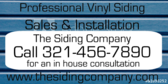 Professional Vinyl Siding Sales & Installation