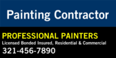 Painting Contractor Your company Name