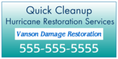 Hurricane Restoration Services