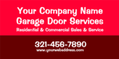 Your Company Name Garage Door Services