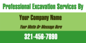 Professional Excavation Services By Your Company