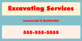 Excavating Services Commercial & Residential