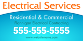Electrical Services Residential and Commercial