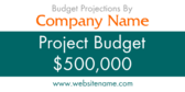 Budget Projections By
