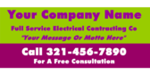 Your Company Name Full Service Electrical