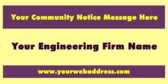 Your Community Notice Message Here