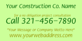 General Contractor Contact