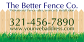 Fencing Sales and Services
