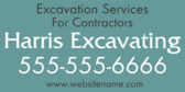Excavation Services for Contractors