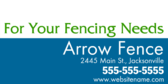 For Your Fencing Needs