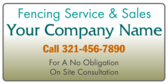 Fencing Service And Sales
