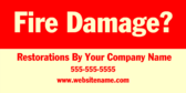 Fire Damage? Restorations By Your Company