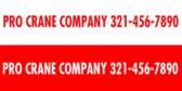 Pro Crane Company