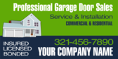 Professional Garage Door Service and Install