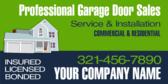 Professional Garage Door Service and Install