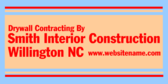 Drywall Contracting By Smith Interior