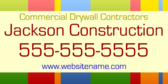Commercial Drywall Contractors