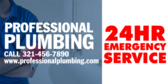 Professional Plumbing Emergency Service Available