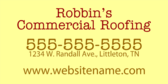Robbins Commercial Roofing