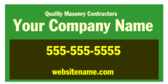 Quality Masonry Contractors Your Company