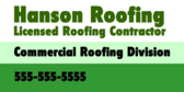 Hanson Roofing Licensed Roofing