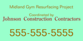 Midland Gym Resurfacing
