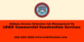 Addams Avenue Extension Job Management