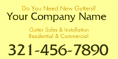 Do You Need New Gutters?