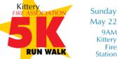 Fire Association 5K Run/Walk