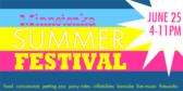 Summer Festival Pastel