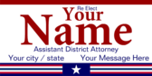 Re-Elect Assistant District Attorney