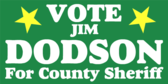 Vote For County Sheriff