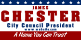 City Council President, A Name You Can Trust