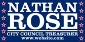 For City Council Treasurer