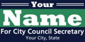 Political City Council Secretary