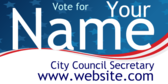 Vote For Your City Council Secretary