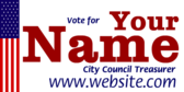 Vote For Your City Council Treasurer