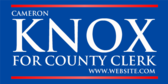 For County Clerk
