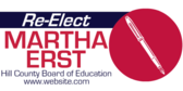 Re-Elect for the Board of Education