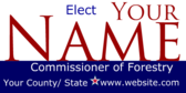 Elect Your Commissioner of Forestry