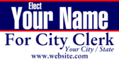 For City Clerk