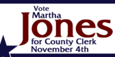 Vote for County Clerk in November