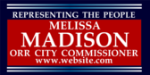 Representing The People City Commissioner