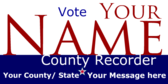 Elect Your County Recorder