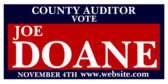 County Auditor Vote