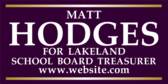 School Board Treasurer Info